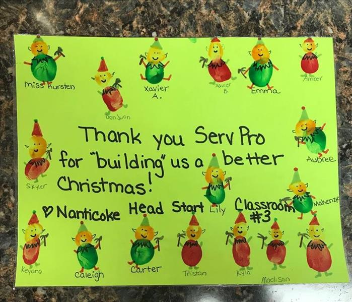 General SERVPRO Christmas Donations